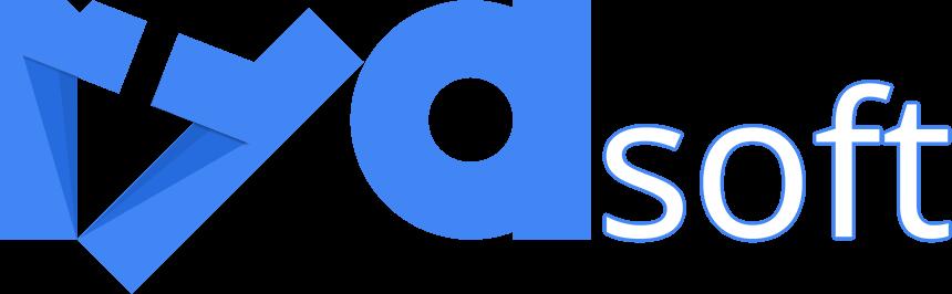 ryasoft logo for white background